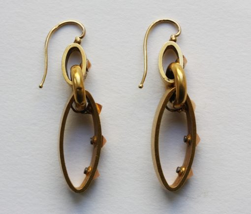 meander earrings