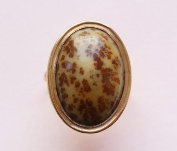 jasper gold ring