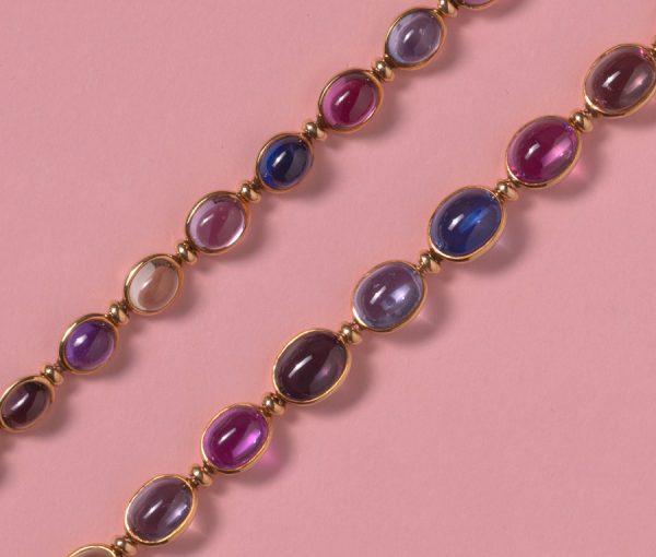 bulgari sapphire necklace