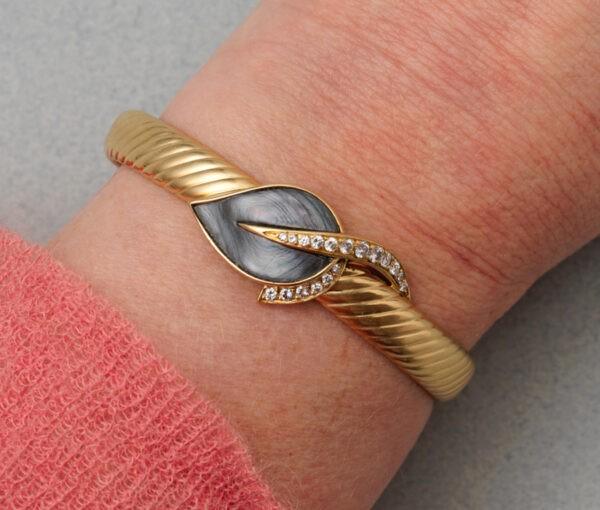fred of paris leaf bracelet