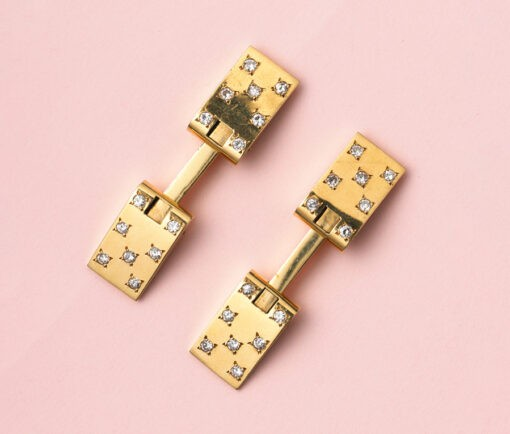 diamond_gold_cufflinks