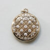 gold and diamond tiffany locket