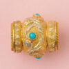 gold_turquoise _bead