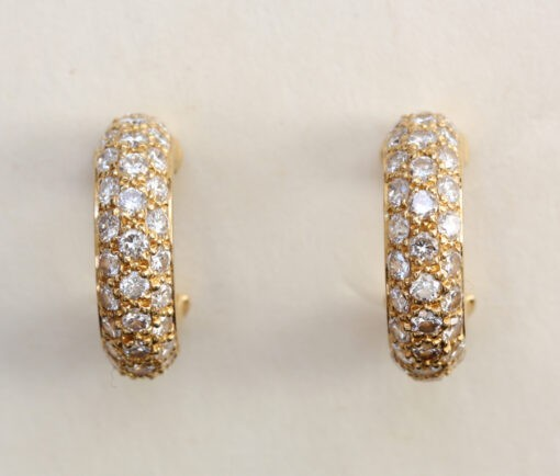 diamond cartier earrings
