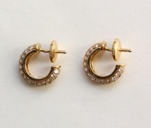 diamond cartier earrings