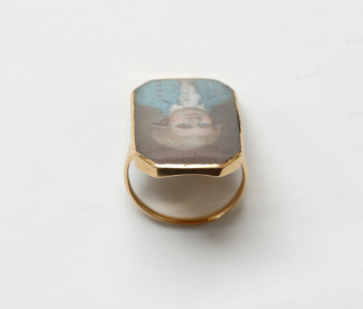 18th century portrait ring