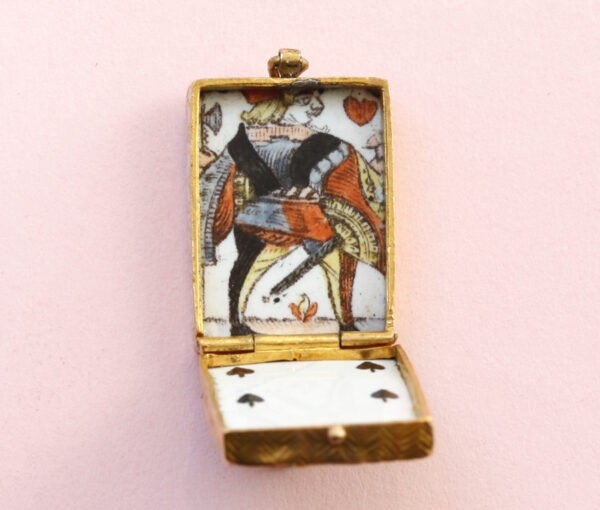 playing card love charm