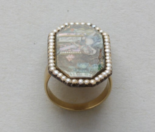 18th century mourning ring