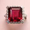 Bailey Banks & Biddle Rubelite ring