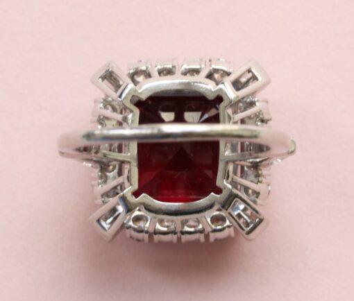 Bailey Banks & Biddle Rubelite ring