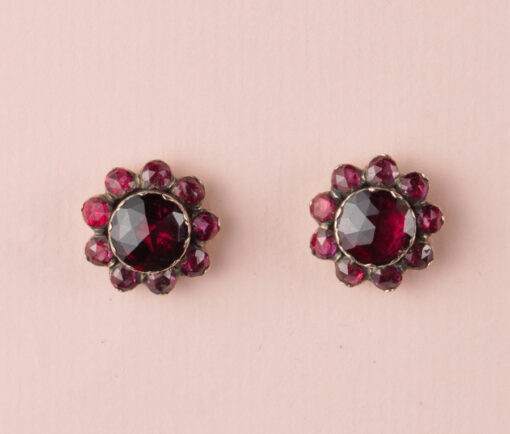 garnet_cluster_earrings