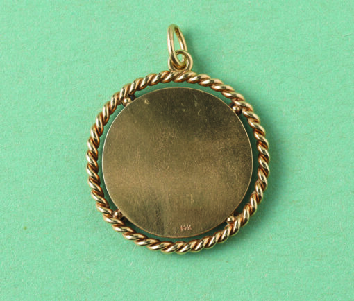 Saint Christopher gold pendant