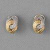 bi-color Lenfant earclips