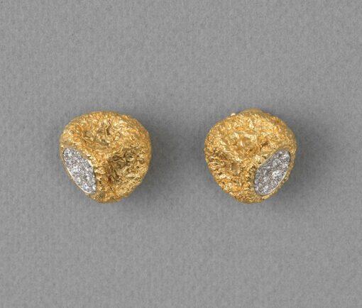 van cleef & arpels eucalyptus earrings