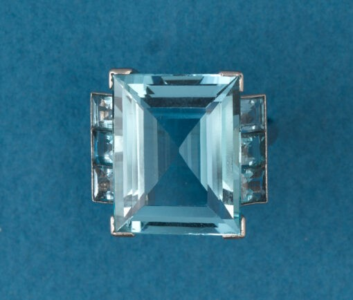 Georges Fouquet aquamarine ring