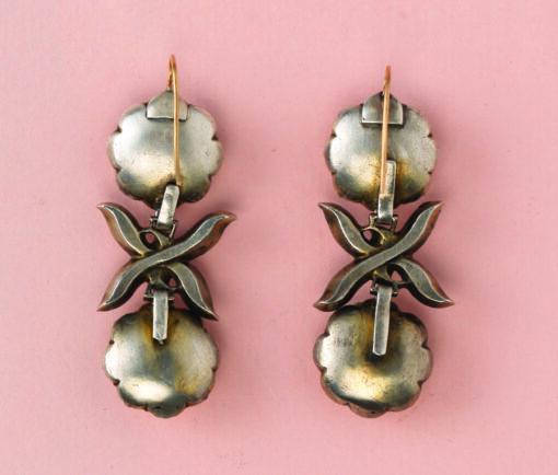 imperial topaz portuguese earrings