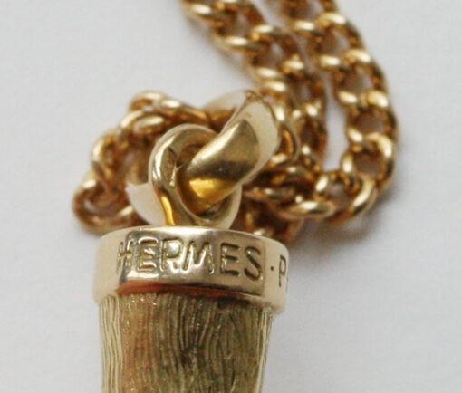 hermes horse leg pendant