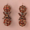 imperial topaz portuguese earrings