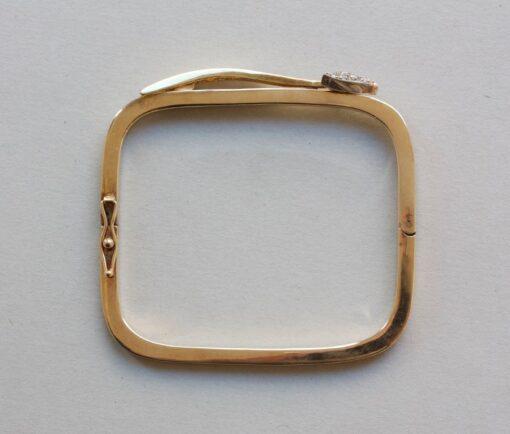 gold arrow bangle