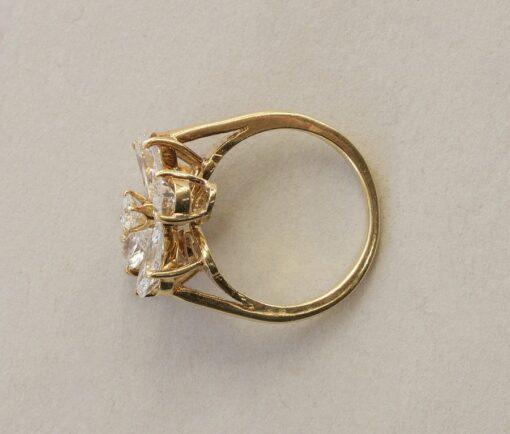 diamond clover ring