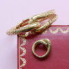 Cartier Paris gold knot set