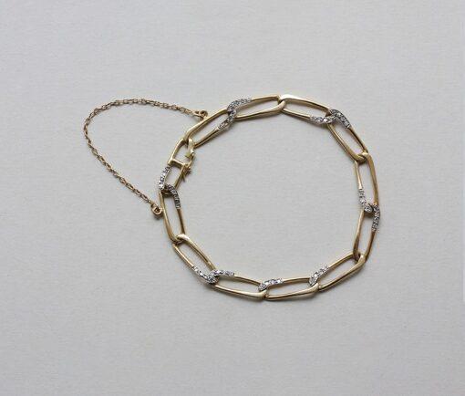 gold and diamond cartier bracelet
