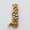 Chaumet monkey brooch