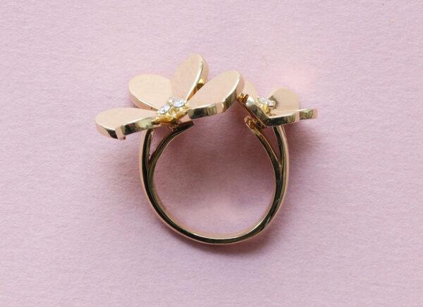 frivole ring van cleef & arpels