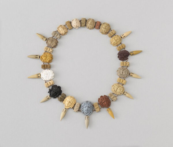 lava medusa necklace