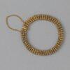 gold cannetille bracelet