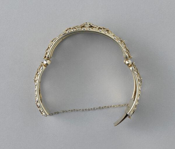 zilveren vergulden neo renaissance armband