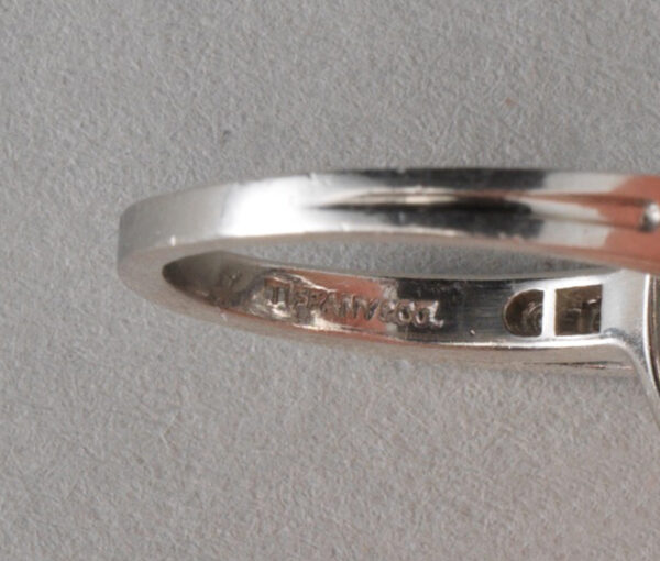 Tiffany diamond cluster ring