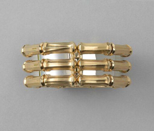 Cartier triple bamboo bangle