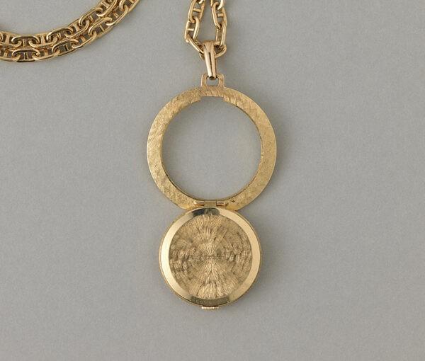 gold cartier watch