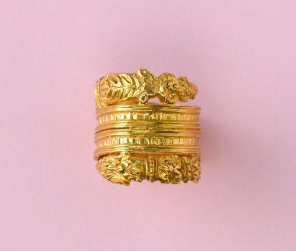 Norse dragon ring