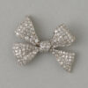 platinum bow brooch